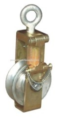 Single Sheave Conductor sagging end pulley