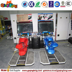 Game center new racing car game machine