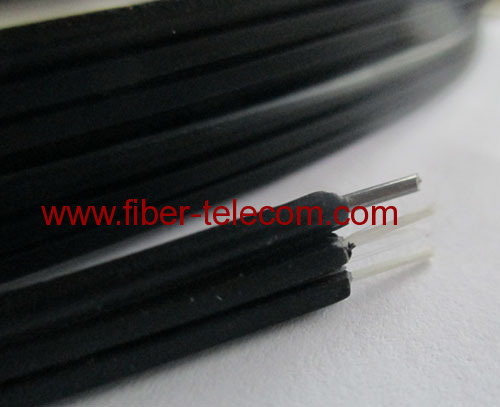 FTTH Drop Cable 1-fiber Fig.8 with 0.5mm FRP Strength member