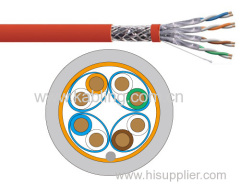 SFTP shielded PIMF 4 pairs category 7a Lan Cable