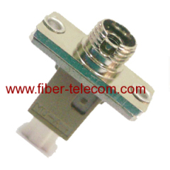 metallic simplex fiber adapter