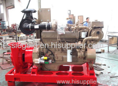 Diesel Engine Ship Fire Pump Manufacturers Hot Selling Marine Safety Products