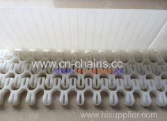 Flexible conveyor belt S100 radius Flish grid belt used food grade material