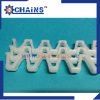 plastic Modular flush grid conveyor Belt 12-400 pitch 12.7mm