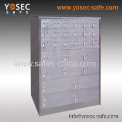 stainless steel safe deposit locker