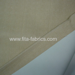 Fire protection blackout fabric