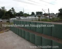 Schwere Galvanisierung Militär Sand Wand Hesco Barriere Hesco Typ Military Barrier