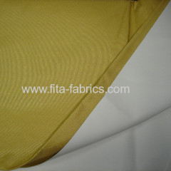 Fire protection curtain with coating
