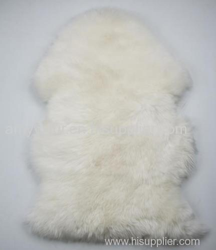 sheepskin long wool baby cushion