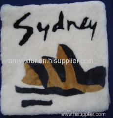 sheepskin long wool baby carpet