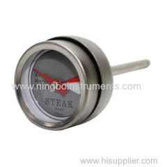 Mini Steak Thermometer with Steel Cap