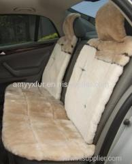 genuine sheepskin car seat cover