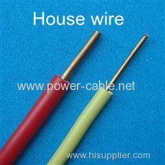 PVC insulated electrical wire