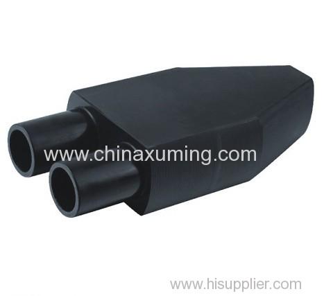 PE GSHP Single U-Head Pipe Fittings