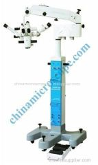 ophthalmology Hand operating surgery microscope
