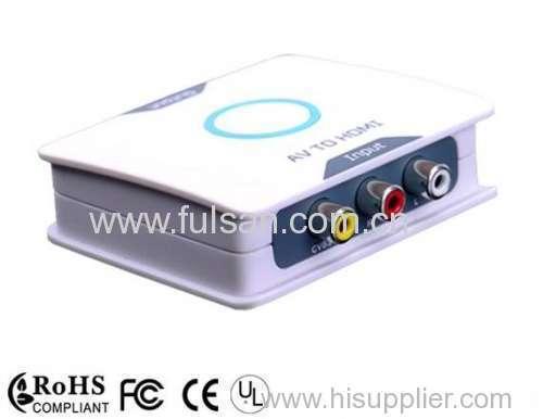 AV to HDMI Converter RCA CVBS Composite to HDMI converter