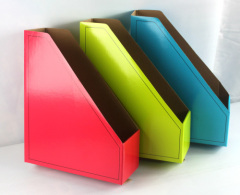 colored easy paper file holder