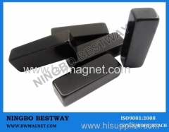 Black Epoxy NdFeB Magnet L25xW10xH5mm