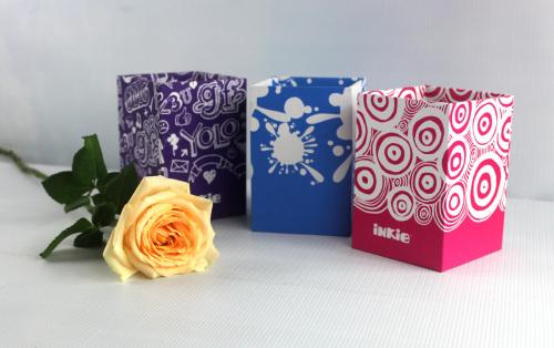 small paper pen box