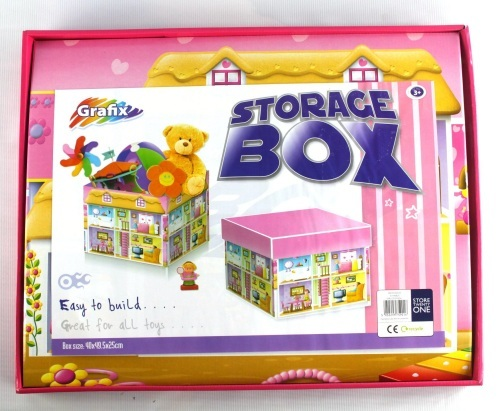 KIDS PAPER STORAGE BOX