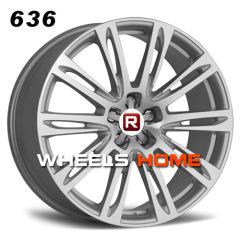 New A8 alloy wheels