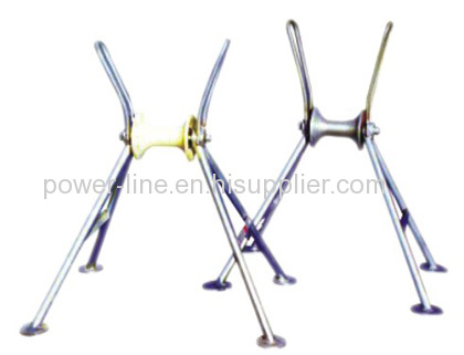 Pulley Block Earth Wire Rollers
