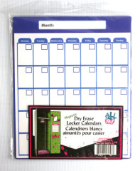 dry erase locker blank calendar