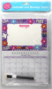 blank calendar with message board