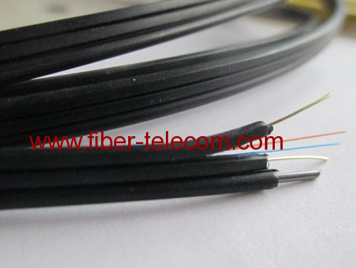 FTTH Drop Cable 1core Fig.8 with 0.4mm Steel Wire Strength member