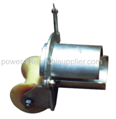 B series cable entrance guide rollers