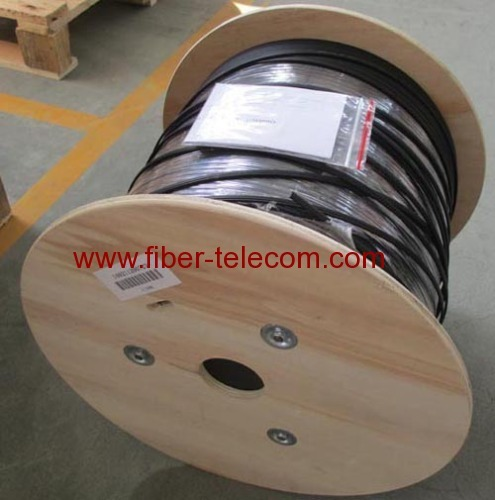 FTTH Drop Cable 8-core Fig.8 with 0.4mm Steel Wire Strength member