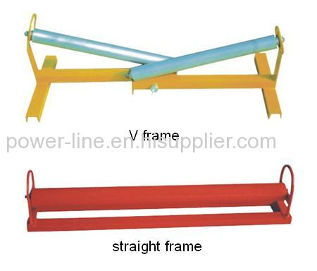 Roller Set for guiding cable into trench or duct