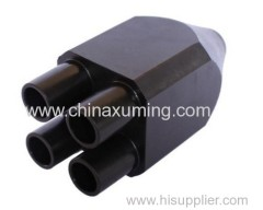 HDPE Ground Source Heat Pump Double U Type Head Injection Fitting