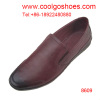 Comfortable and breathable men leather casual loafers