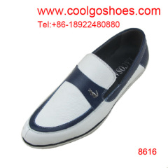 2014 Spring Collection leather men shoes manufacturer