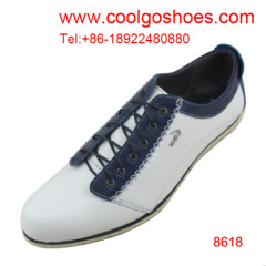 America hot sell style casual men flat shoes factory