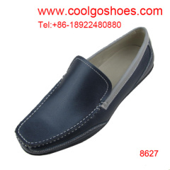Square toe wholesale Leather casual Shoes