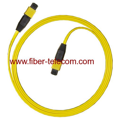 Fiber Optic Cable Assembly : Cable assembly fiber optic mpo jumper fibers