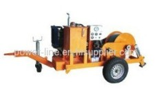 4 Ton Cable Pulling Machine for Underground Cable Laying Operation
