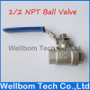 Stainless Steel 316 Ball Valve, 1/2