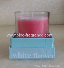Scented soy candle gift box
