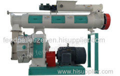 Poultry Feed Pelletizer with Ring Die Pellet Mill Design
