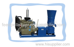 Poultry Feed Pelletizer-Diesel Flat Die Feed Pellet Mill
