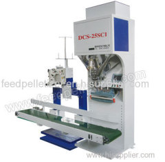 Feed pellet packing machine