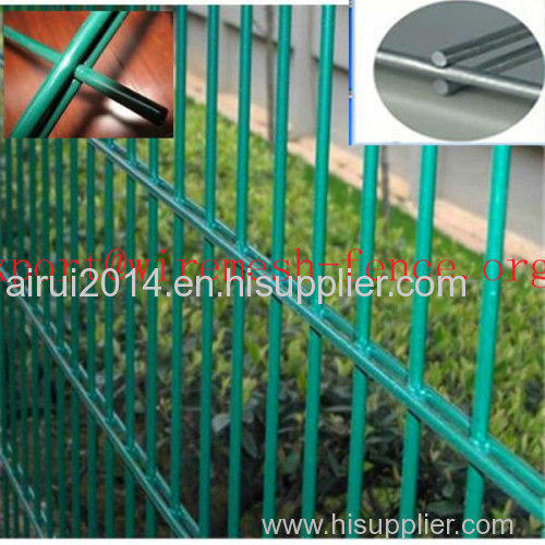 high quality double wire fence and panel