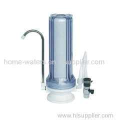Counter top water filter purifier
