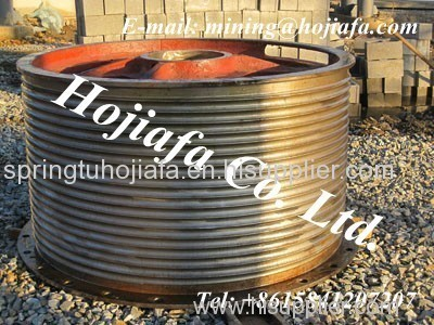 Drum,crusher wear part, gear, gear ring, concave, mantle
