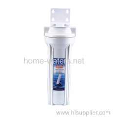 Single wall mounted water filter purifier