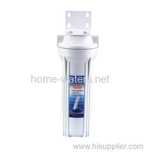 Single wall mounted water filter purifier
