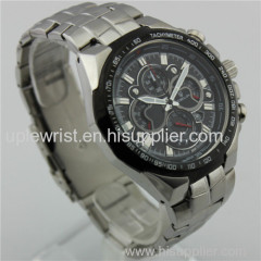 Manufacturer2014 trendy high quality stainless steel chronograph watch